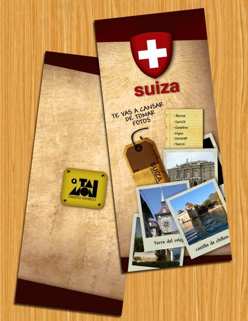 Folleto Suiza